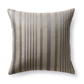 Linen Stripe Decorative Pillow