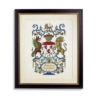 Crest Print I