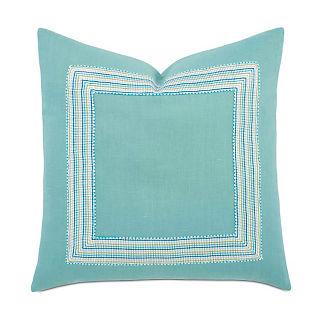 Breeze Aqua Decorative Pillow
