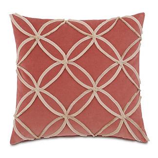Lenneka Mini Brush Fringe Decorative Pillow