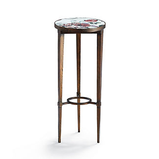 Mosaic Fleur Accent Table