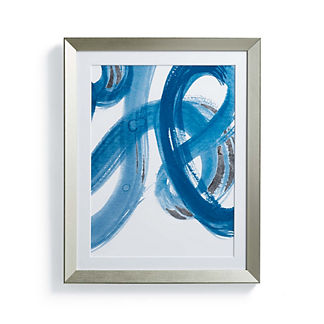Silver Leafed Watercolor II Wall Art
