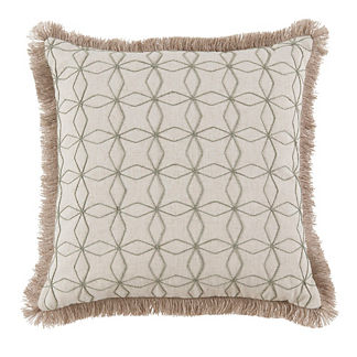 Cari Fringe Decorative Pillow
