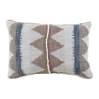 Adobe Danish Flange Decorative Pillow
