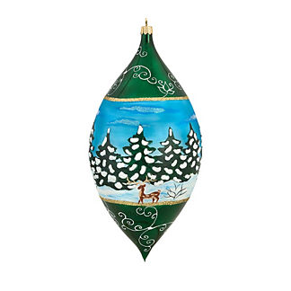 Galician Santa Drop Ornament
