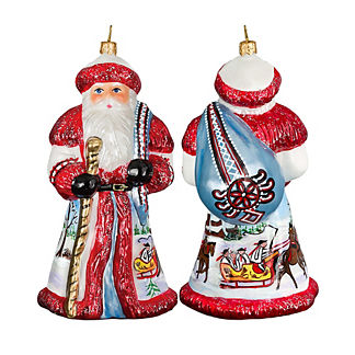 Father Frost Russian Santa Ornament
