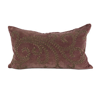 Luella Embroidered Decorative Pillow
