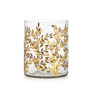 Labrazel Vine Gold Waste Basket