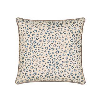 Emory Tabby Sapphire Decorative Pillow