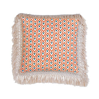 Suwanee Fringe Decorative Pillow