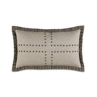 Reign Nailhead Decorative Pillow