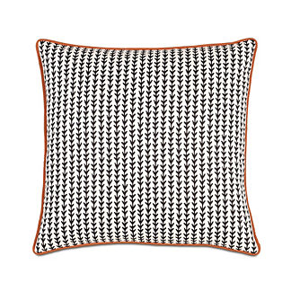 Bowie Small Welt Decorative Pillow