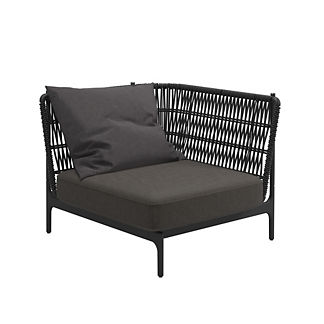 Grand Weave Small Corner Chair by Gloster