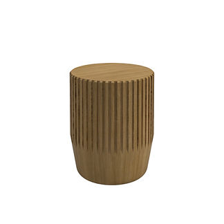 Arbor Teak Stool/Side Table by Gloster