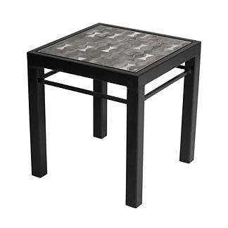 Montecito Lagoon Modern Side Table