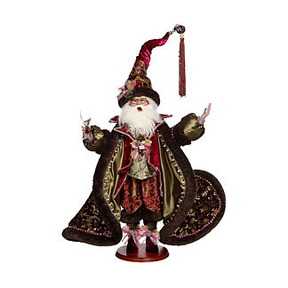 Mark Roberts Wine and Chocolate Santa Figure