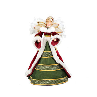 Claus Angel Figure Tree Topper