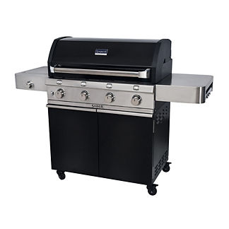 SABER 670 Cast Black 4-Burner Gas Grill