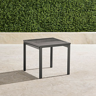 Newport Aluminum-top Side Table