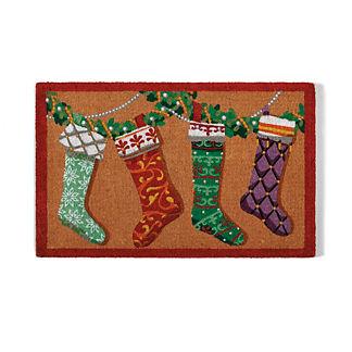 Designer Stockings Coco Door Mat