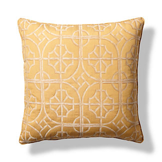 Palm Beach Sunglow Throw Pillow