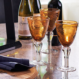 Shimmer Goblets, Set of Four