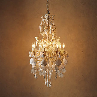 Harbor Shell Chandelier