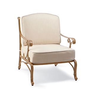 Orleans Lounge Chair with Cushions in Biscayne Finish