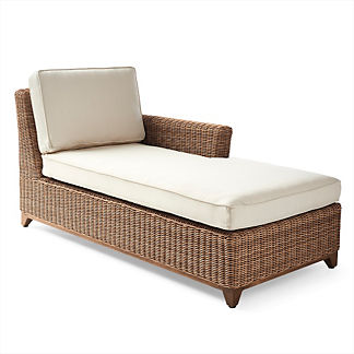 Somerset Right-facing Chaise with Cushions, Special Order