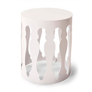 Jules Aluminum Side Table