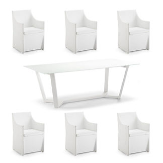 Collins 7-pc. Rectangular Dining Set by Porta Forma