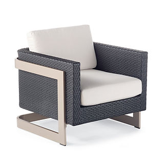 Mercer Lounge Chair with Cushions by Porta Forma