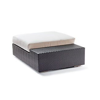 Mercer Cocktail Ottoman with Cushion by Porta Forma, Special Order