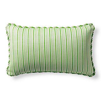 Cayden Stripe Gingko Outdoor Lumbar Pillow