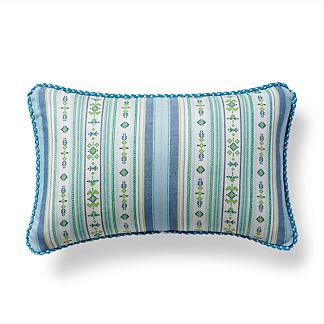 Voyager Lagoon Outdoor Lumbar Pillow