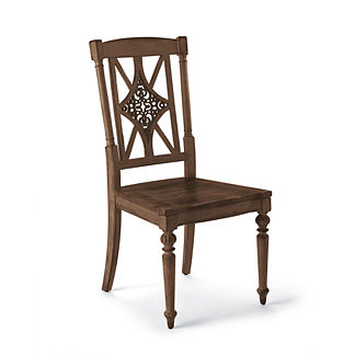 Avignon Fretback Side Chairs, Set of Two