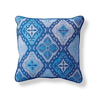 Savona Tile Cobalt Outdoor Pillow