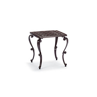 Orleans Side Table in Chocolate Finish