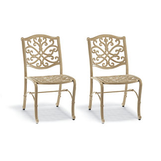 Set of Two Orleans Bistro Chairs in Biscayne Finish