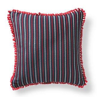 Fairway Stripe Nautical Outdoor Pillow