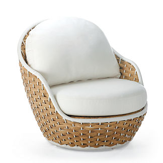 Ravello Lounge Chair with Cushions by Porta Forma, Special Order