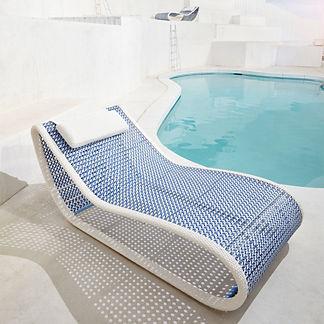 Amalfi Chaise by Porta Forma