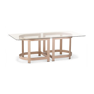 Mercer Rectangular Dining Table by Porta Forma