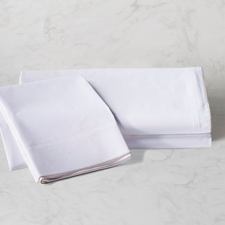 Piped Percale Sheet Set
