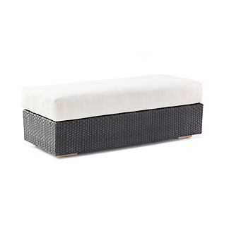 Mercer Ottoman with Cushion by Porta Forma, Special Order