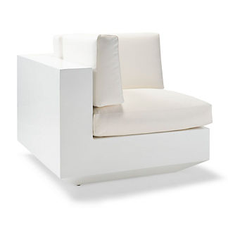 Milo Left-facing Lounge Chair by Porta Forma