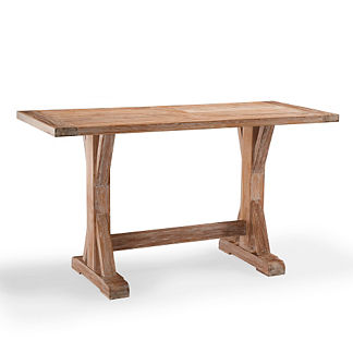 Washed Teak Bar Table