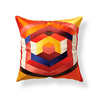 Trina Turk Hexagonal Outdoor Pillow by Porta Forma