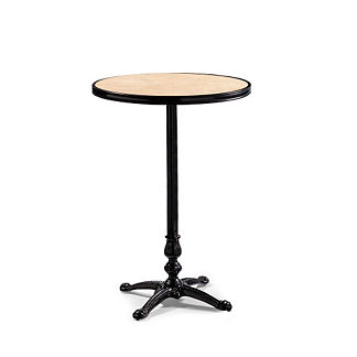 Paris Round Marble Bar Table