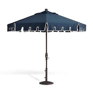 Calais Indigo Designer Umbrella